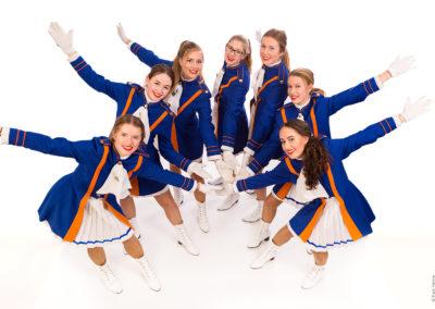 Dansmarietjes CV Oranjebuurt 2019