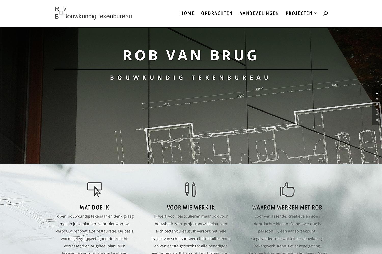 site Rob van Brug Tekenbureau