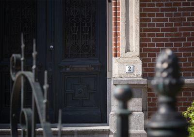Vrededael huisnummer